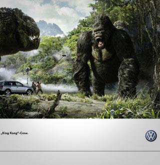 Product Placement für VW